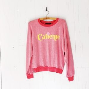 Wild fox Caliente Sweatshirt NWT